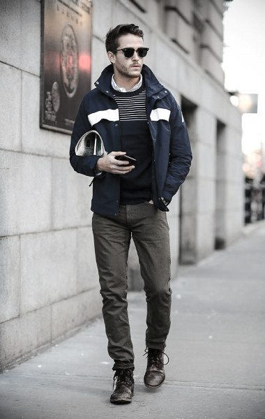 casual wear outfit hombre